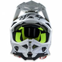 Ufo Offroad Helmet Diamond White