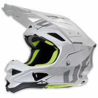 Ufo Casco Cross Enduro Diamond Bianco