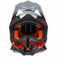 Ufo Casco Cross Enduro Diamond Rosso