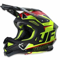 Ufo Casco Cross Enduro Diamond Giallo