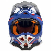 Ufo Casco Cross Enduro Diamond Blu