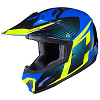Hjc Cl Xy 2 Kid Helmet Argos Blue Yellow Kinder