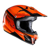 Hjc Cl-xy 2 Bator Mc7 Kid Orange Black Kinder