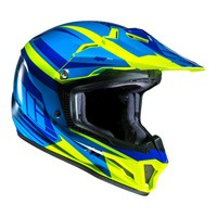 Hjc Cl-xy 2 Bator Mc3h Kid Blue Yellow Kinder