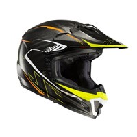 Hjc Cl-xy 2 Blaze Mc5 Kid Helmet Black Orange Yellow Kinder