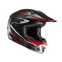 Hjc Cl-xy 2 Blaze Mc1 Kid Helmet Black Red Kid