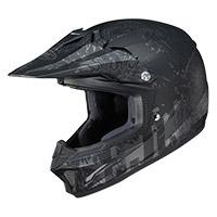 Hjc C-xy 2 Creeper Kid Helmet Black Kinder