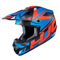 Casco Cross Hjc Cs-mx Ii Madax Arancio
