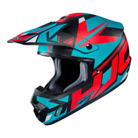Off Road Helmet Hjc Cs-mx Ii Madax Red