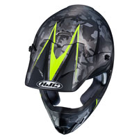Off Road Helmet Hjc Cs-mx Ii Sapir Yellow