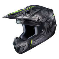 Casco Cross Hjc Cs-mx Ii Sapir Giallo