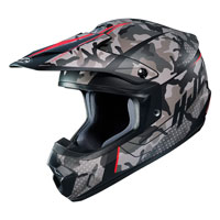 Off Road Helmet Hjc Cs-mx Ii Sapir Red