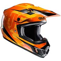 Hjc Cs-mx 2 Dakota Mc7sf Helmet Orange