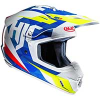 Hjc Cs-mx 2 Dakota Mc23 Bianco Blu Giallo