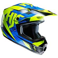 Hjc Cs-mx 2 Dakota Mc2sf Helmet Blue Yellow