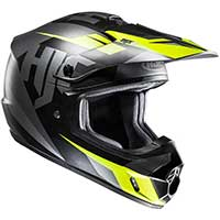 Hjc Cs-mx 2 Dakota Mc5sf Helmet Black Yellow