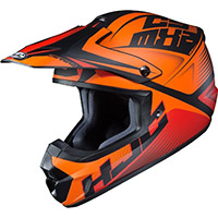 Hjc Cs Mx 2 Ellusion Helmet Orange Black