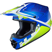 Hjc Cs Mx 2 Ellusion Helmet Blue Yellow