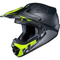Hjc Cs Mx 2 Ellusion Helmet Grey Yellow