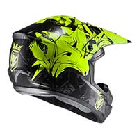 Hjc Cs-mx 2 Graffed Mc4hsf Giallo Nero