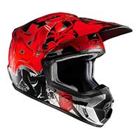 Hjc Cs-mx 2 Graffed Mc1sf Rosso Nero