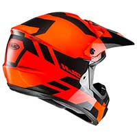 Hjc Cs-mx 2 Pictor Mc4h Arancio