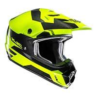 Casque Hjc Cs-mx 2 Pictor Mc6h Jaune