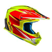 Hjc Fx-cross Axis Mc3hsf Helmet Yellow Red