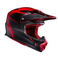 Hjc Fx-cross Axis Mc1sf Rosso Blu Nero