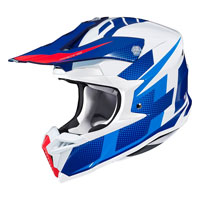 Casco Cross Hjc I50 Argos Blu