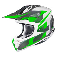 Casco Cross Hjc I50 Argos Verde