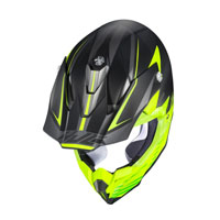Off Road Helmet Hjc I50 Fury Yellow