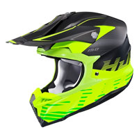 Casco Cross Hjc I50 Fury Giallo