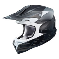 Casco Cross Hjc I50 Fury Nero