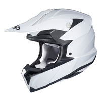Off Road Helmet Hjc I50 Solid White