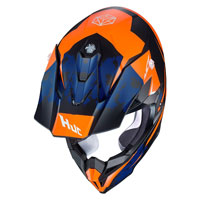 Casco Cross Hjc I50 Tona Arancio