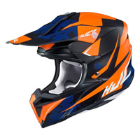 Off Road Helmet Hjc I50 Tona Orange