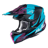 Casco Cross Hjc I50 Tona Blu
