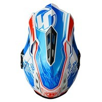 Just-1 J12 Carbon Dominator White Red Blue