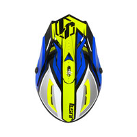 Just-1 J38 Pro Blade Giallo Fluo Blu - 3