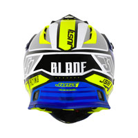 Just-1 J38 Pro Blade Giallo Fluo Blu - 4