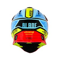 Just-1 J38 Blade Yellow Red Blue Black Matt