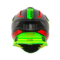 Just-1 J38 Blade Red Green Black Matt