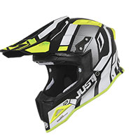 Just-1 J12 Vector White Fluo Yellow