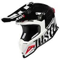 Just-1 J12 Pro Racer Helmet White Carbon