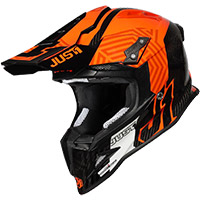 Just-1 J12 Syncro Helmet Fluo Orange Carbon
