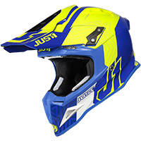 Just-1 J12 Syncro Helmet Fluo Yellow Blau