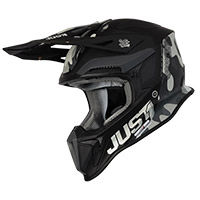 Just-1 J18 Mips Pulsar Helmet Camo Black Matt