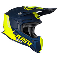 Just-1 J18 Mips Pulsar Helmet Yellow Fluo Matt