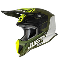 Casco Just-1 J18 Mips Pulsar Ltd Verde Army Opaco